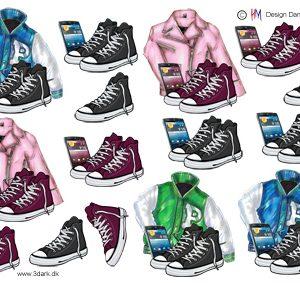5 fede jakker til de unge, HM design